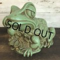 60s Vintage  Frog Hippie Bank (S569)