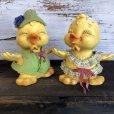 画像1: 70s Vintage Royalty Industries Inc. Chick Piggy Banks (S561) (1)