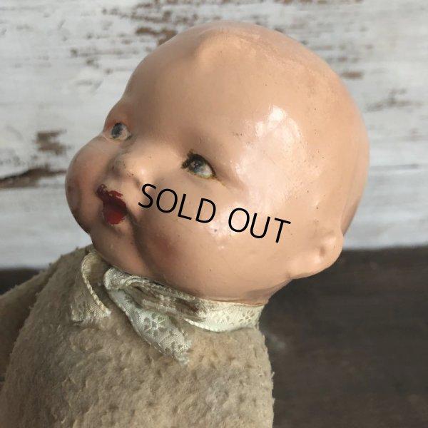 画像2: Vintage Composition Baby Doll (S593)