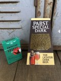 Vintage Pabst Card Sign Special Dark (S598)