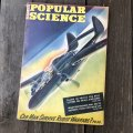 1940s Vintage Popular Science Magazine (PS365)