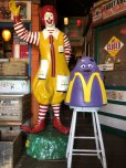 画像11: Vintage Mcdonald's Grimace Statue Playland Childs Chair (S606)
