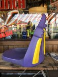 画像2: Vintage Mcdonald's Grimace Statue Playland Childs Chair (S606) (2)