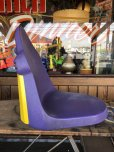画像4: Vintage Mcdonald's Grimace Statue Playland Childs Chair (S606)
