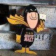画像1: 70s Vintage Budweiser Bud Man Mighty Malt Sticker Decal (S612) (1)