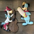 画像8: Vintage Quick Draw McGraw & Huckleberry Hound Wall Decor Set (S645)