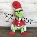 80s Vintage Dr. Suess The Grinch Plush Doll (S639)
