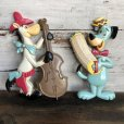 画像1: Vintage Quick Draw McGraw & Huckleberry Hound Wall Decor Set (S645) (1)