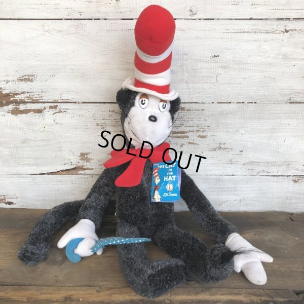 画像1: 80s Vintage Dr. Suess Cat in the Hat Plush Doll (S640)