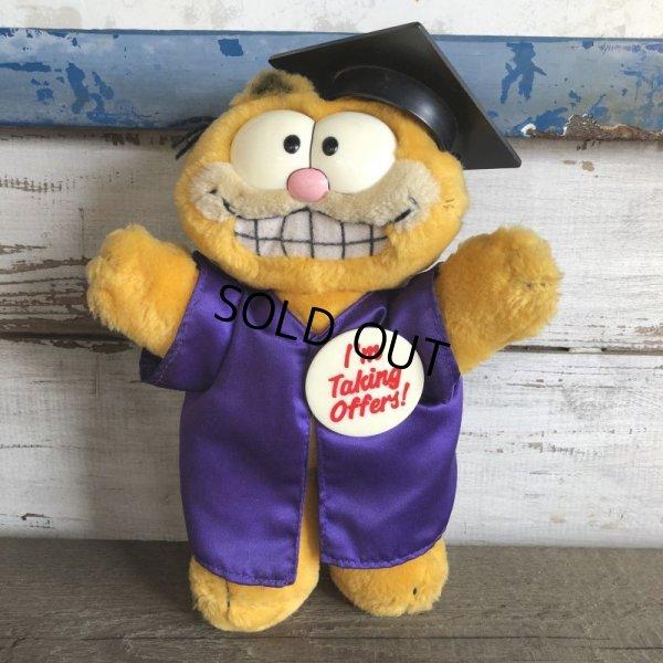 画像1: Vintage Dakin Garfield Plush Doll (S646)