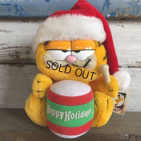 画像1: Vintage Dakin Garfield Plush Doll (S649)