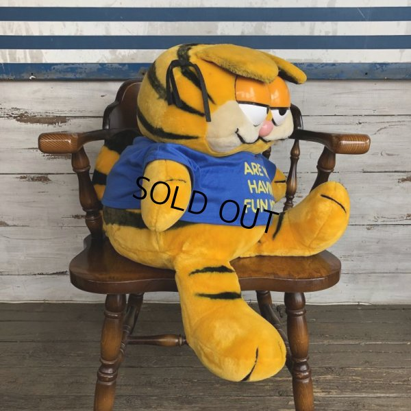 画像2: Vintage Dakin Garfield BIG SIZE Doll (S657)