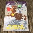 画像1: Vintage Garfield Poster Jumbo Card (S659) (1)