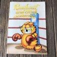 画像1: Vintage Garfield Poster Jumbo Card (S660) (1)