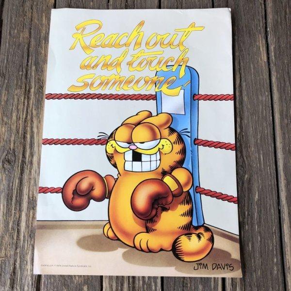 画像1: Vintage Garfield Poster Jumbo Card (S660)