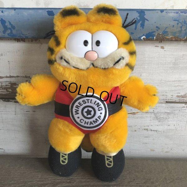 画像1: Vintage Dakin Garfield Plush Doll (S648)