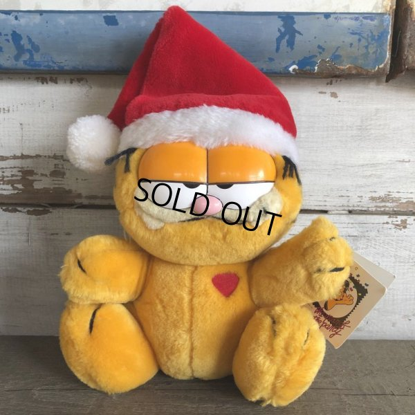 画像1: Vintage Dakin Garfield Plush Doll (S651)