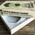 画像3: 80s Vintage Little Green Sprout RADIO (S681)