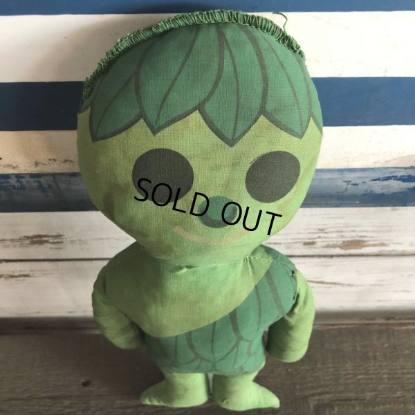 画像2: 70s Vintage Green Giant Pillow Doll (S683)
