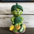 80s Vintage Little Green Sprout Musical Bank (S677)
