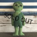 70s Vintage Green Giant Pillow Doll (S683)