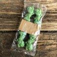 画像1: 80s Vintage Little Green Sprout Decoration Stick (S682) (1)