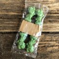 80s Vintage Little Green Sprout Decoration Stick (S682)