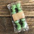 画像2: 80s Vintage Little Green Sprout Decoration Stick (S682) (2)