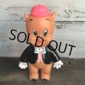 Vintage WB Porky Pig Soft Figure R.Dakin (S704)