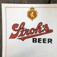 画像3: Vintage Cardboard Sign Stroh's Beer (S717) (3)
