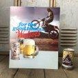 画像1: Vintage Cardboard Sign Walter's Beer for the good times... (S715) (1)