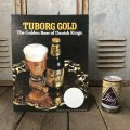 Vintage Cardboard Sign TUBORG GOLD Beer (S726)
