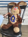 80s Vintage RUSS Nestle Quik Plush Bunny Advertising Doll (S736)