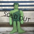 Vintage Green Giant Pillow Doll (S756)