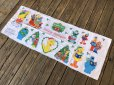 画像2: Vintage sesame Street Ornament Fabric Pillow Cushion Panel (S762) (2)