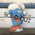 Vintage Smurf Pillow Doll (S757)