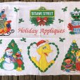 画像4: Vintage sesame Street Ornament Fabric Pillow Cushion Panel (S762) (4)