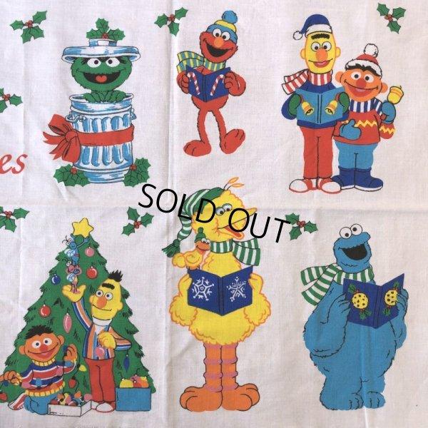 画像5: Vintage sesame Street Ornament Fabric Pillow Cushion Panel (S762)