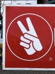 画像4: 70s Vintage KENDALL DRIVE WITH KENDALL CONFIDENCE Metal Sign (S763)