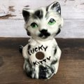 Vintage Lucky Kitty Ceramic Bank (S775)