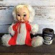 画像1: Vintage Rubber Face Doll Eskimo (S784) (1)