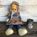 Vintage Terry Talker Doll (S786)