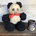 Vintage Sitting Bear Panda Doll (S787)
