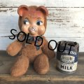 Vintage Rubber Face Doll Crying Bear (S782)