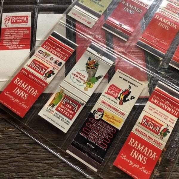 画像3: Vintage Matchbook RAMADA INN Set (MA1181)