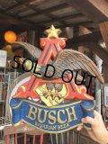 Vintage Anheuser Busch Bavarian American Eagle Budweiser Plaque Sign  (S766)