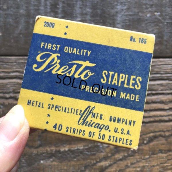 画像4: Vintage Presto Staples (S773)