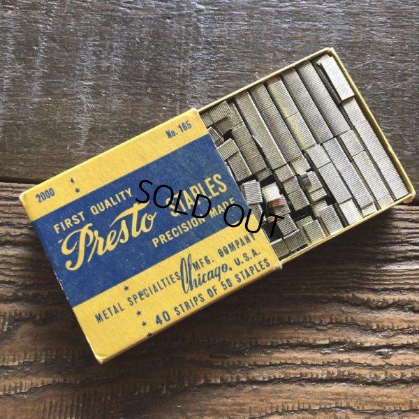画像1: Vintage Presto Staples (S773)