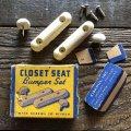Vintage Closet Seat Bumper Set (S777)