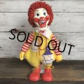 70s Vintage Hasbro Ronald McDonald Doll  (S792)